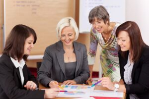 Women Leaders with workplace menopause